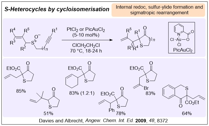 chemdrw diagram showing the reaction and examples from Angew. Chem. Int. ed. 2009, 48, 8372